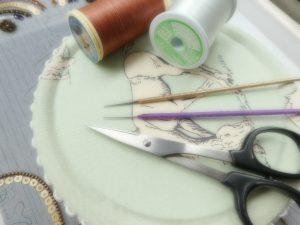 アリワークの針と糸です。