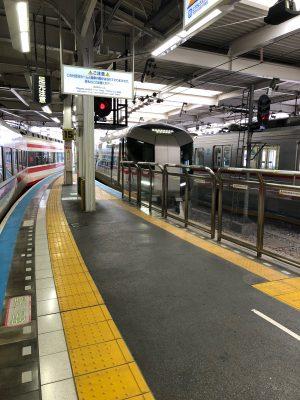 浅草から電車でカイロプラクティックの治療へ行きます。