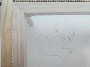 小鳥の製図です。