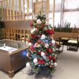 高島屋SCサロンに飾ってある大きなクリスマスツリーです。