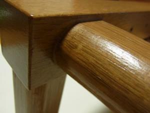 アリワークの木枠です。はめ込み部分がバッチリ入っています。