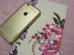 新しい手帳とiPhone6です。