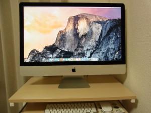 愛用のiMacです