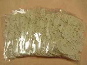 綿ブレードを15袋買いました。