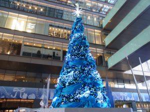 おおきなクリスマスツリーです。