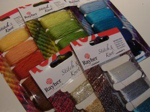 色鮮やかな グラデーションが美しい糸です。