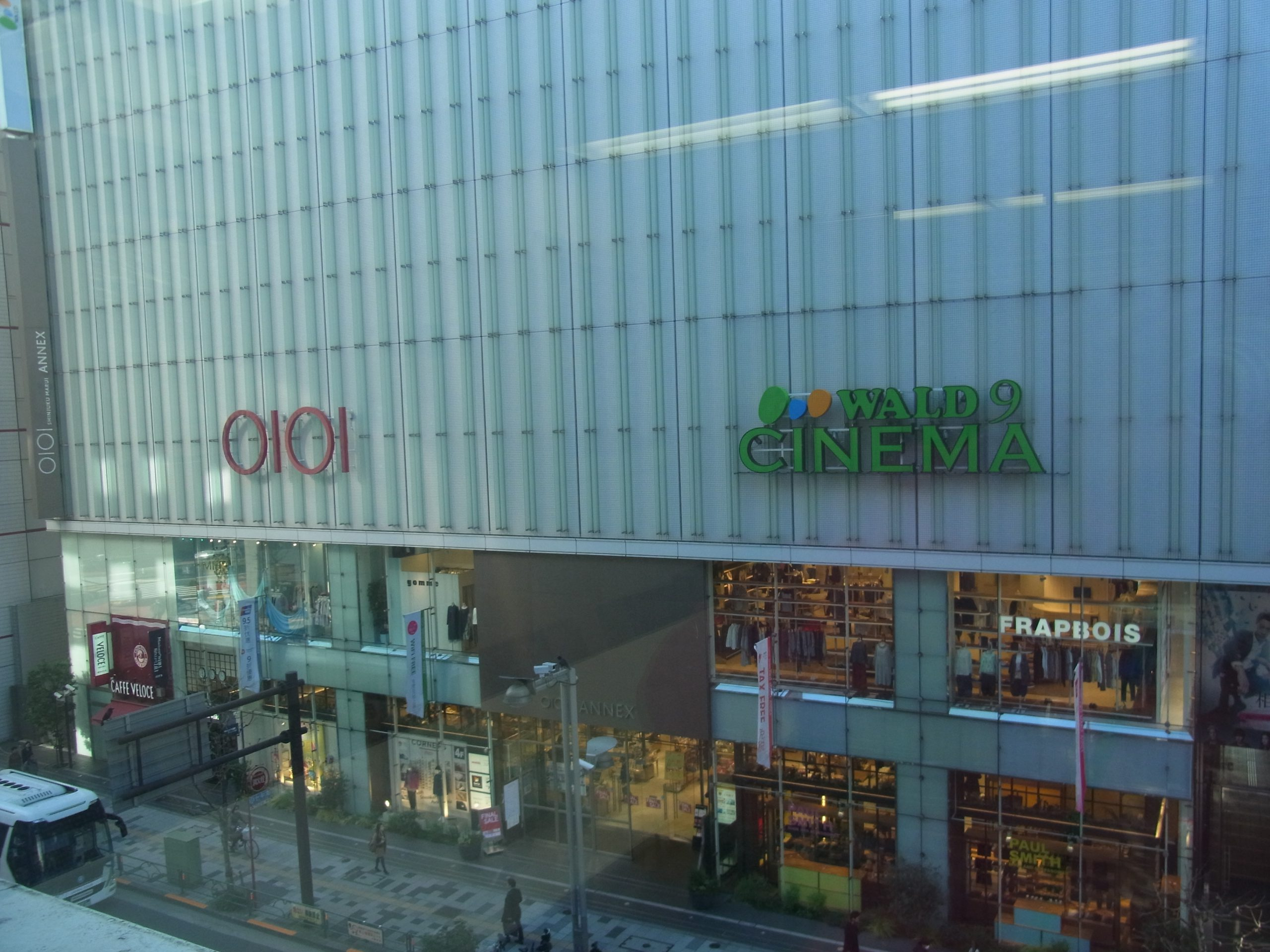 新宿は本日でレッスン納めです。